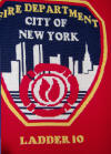 Crocheted New York Fire Department Afghan