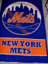 Crocheted NY Mets Afghan